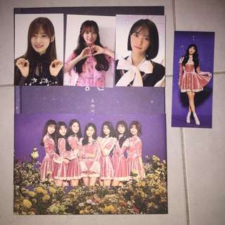 OH MY GIRL SECRET GARDEN ALBUM FULL SET