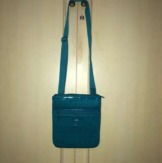 AUTHENTIC Michael Kors sling bag warna hijau tosca