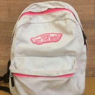 backpack vans pink