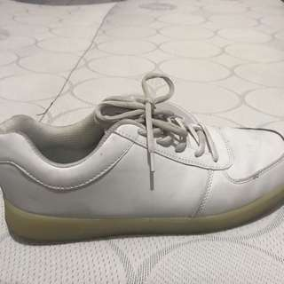Plane White Sneakers