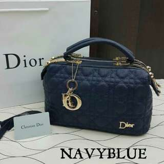 Dior Doctor Satchel Navy Blue