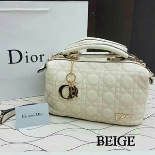 Dior Doctor Satchel Bag Beige Color