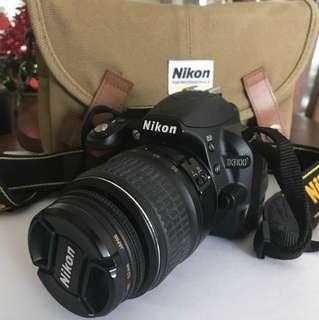 Nikon D3100 body + 18-55mm