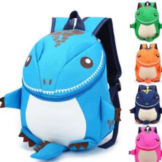 children Small dinosaur backpack bag