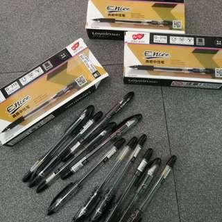 enice gel pens / sign pens 0.5 (like mygel)