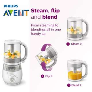 Ready Stock Philips AVENT Healthy Baby Food Maker