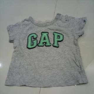 GAP Tshirt 6-12bulan Preloved