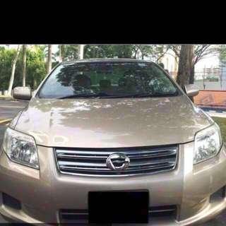 Toyota axio 1.5A