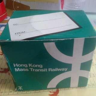 香港地鐵MTR限量紀念水杯