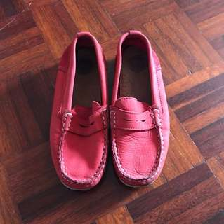 Zara boy boat shoes