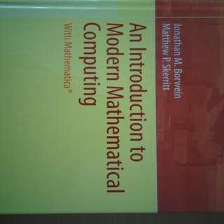 An Introduction to Modern Mathematical Computing