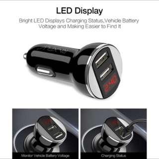 12V USB Car Charger