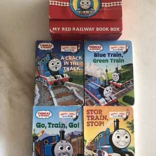 Preloved Thomas & Friends 4 Board Books