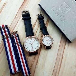 BONIA Couple Watches