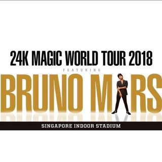 Bruno mars WTS cat 5 (no priority) x2