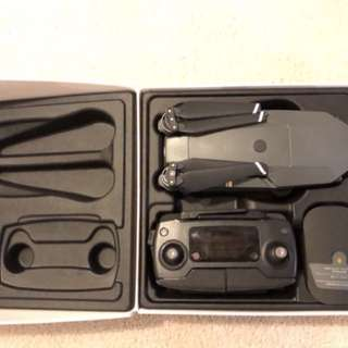Mavic pro + landing Pad + extra battery + extra charger (Brand New)