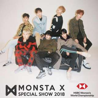 (Helping) Monsta X Singapore Super Show ticket