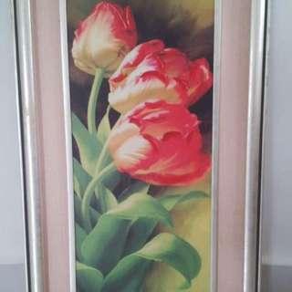 Frame - tulips art