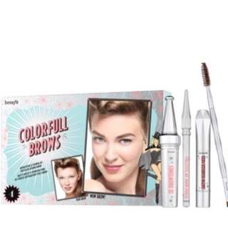 Brand new free delivery BENEFIT COSMETICS COLORFUL BROWS KIT