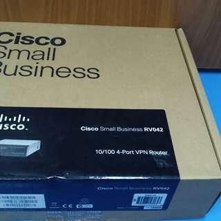 Cisco small business RV042