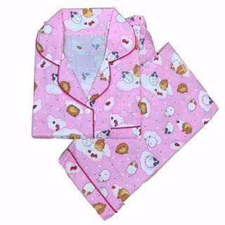 Piyama Wanita Molang Long Pants Baju Tidur Wanita Pajamas