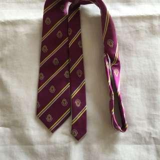 Secondary school tie