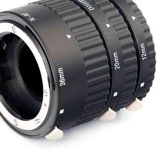 Automatic Macro Extension Tube for Nikon camera