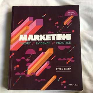 Selling : Marketing: Theory, Evidence,Practice 1st Edition SECOND HAND - GOOD CONDITION