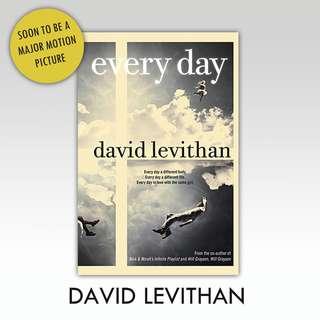 David Levithan - Everyday ebook