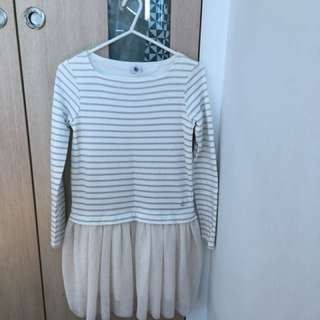 Petit Bateau dress for 10 yo