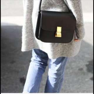 Celine box medium bag classic