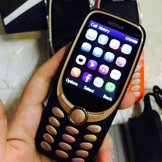 nokia 3320  blue and black only