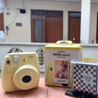 Instax Mini 8 Fujifilm Warna Kuning