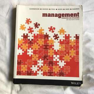 Management foundations and Applications 2nd Ed