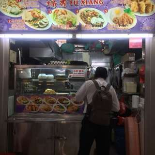 Tekka hawker stall for take over!