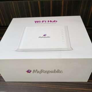 MyRepublic brand new wifi hub