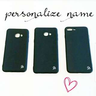 personalize case Iphone/Samsung