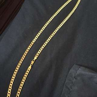Real gold chain