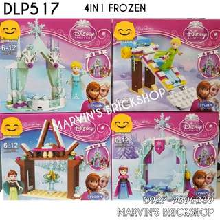 For Sale FROZEN 4in1 Building Blocks Toy