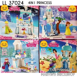 For Sale PRINCESS 4in1 Building Blocks Toy