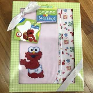 Baby Blanket-Elmo design