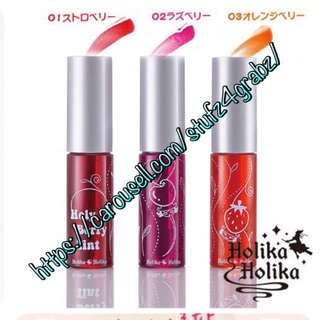Holika Holika Holy Berry Tint Shade#2 Raspberry 14ml
