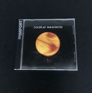 COLDPLAY 'Parachutes' Album / CD