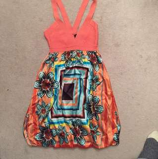 Bebe-summer dress CORAL