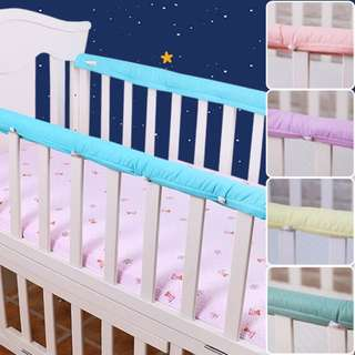 Instock- Babycot rail bumper (Padded)