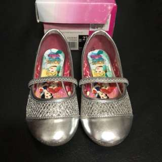 Disney Silver Doll Shoes size27