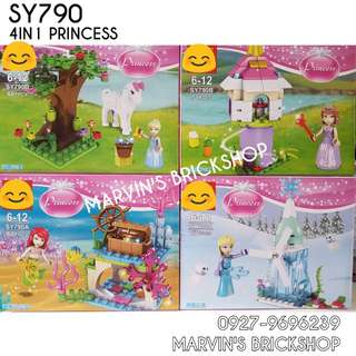 For Sale PRINCESS Building Blocks Toy