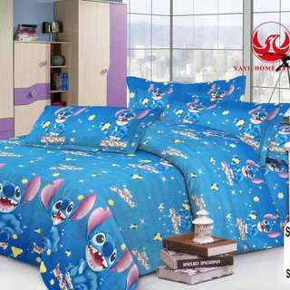 Stitch Bedsheet and Comforter
