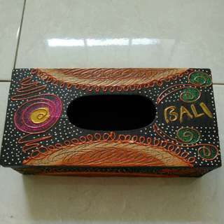 Tempat tissue kayu Bali