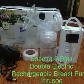 9 Plus Double Electric Breast Pump (Upgraded)